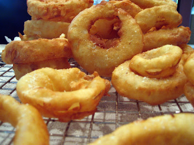 Fire and Salt: Gluten Free Onion Rings