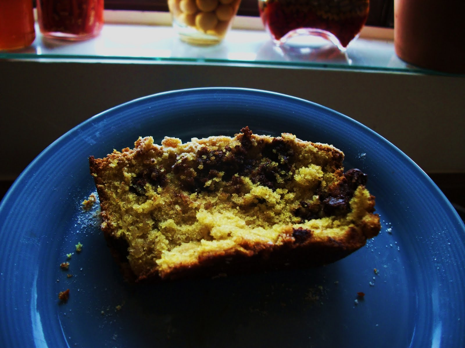 curry banana bread with chocolate chips this bread is astonishing i