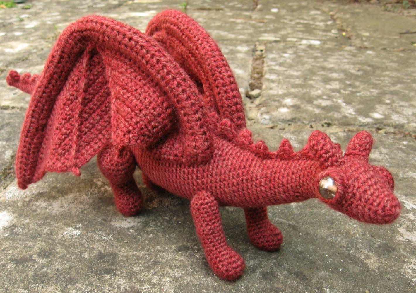 Crochet Dragon : LucyRavenscar - Crochet Creatures: Dragonet Pattern