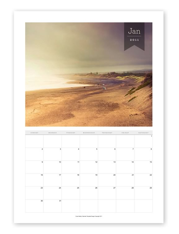 Lightroom Tutorials: Free Indesign Photography Calendar Template ...