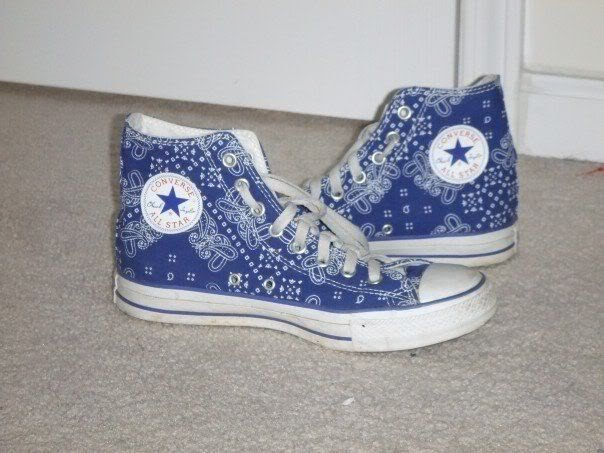 Green Converse Baby Shoes