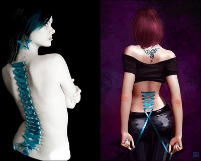 corset pierce. Corset Girl Piercing Extream