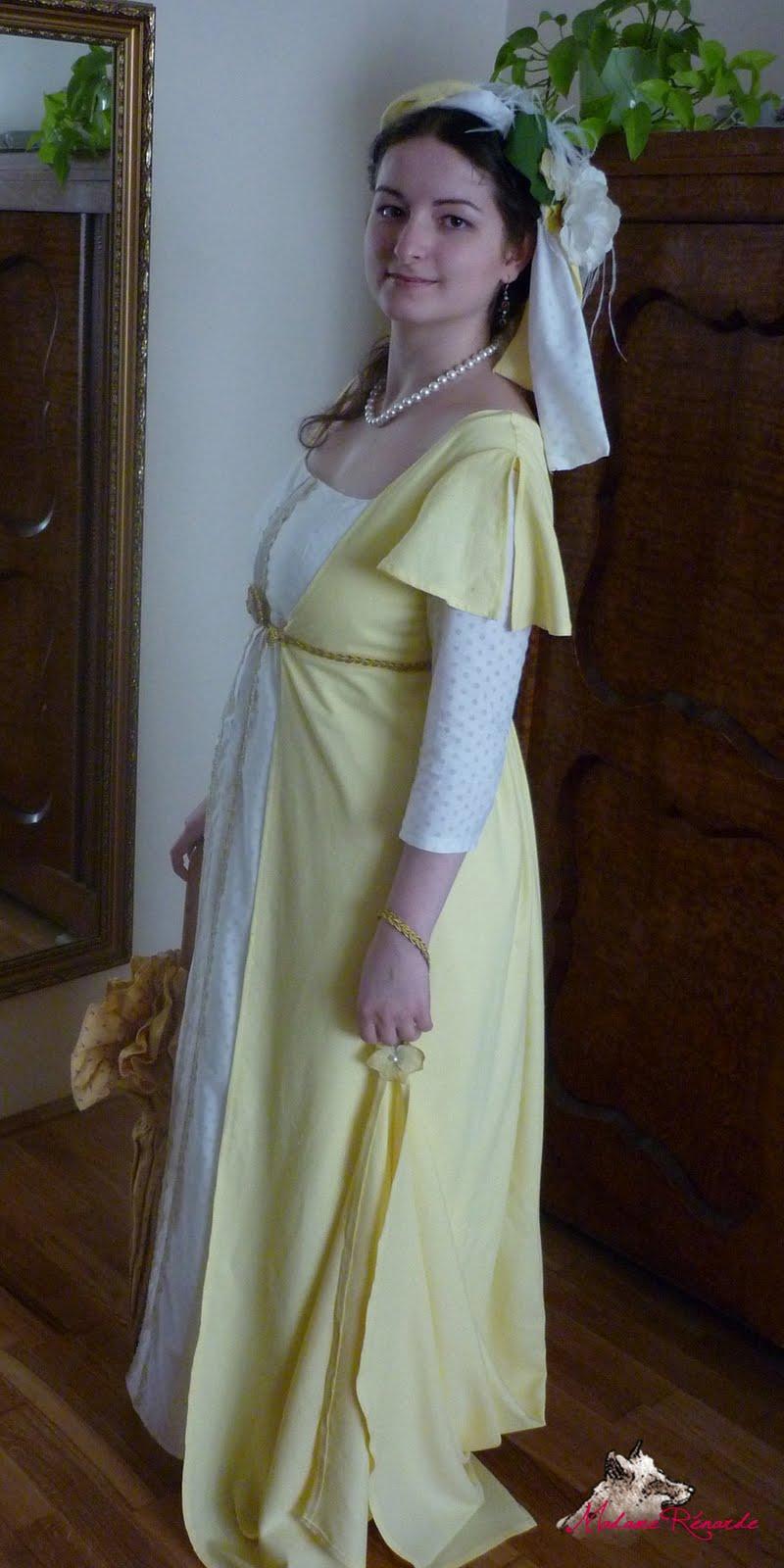 Madame Rénarde: Empire ruha - Regency gown