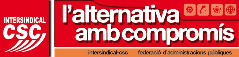 Intersindical-CSC - Sectorial de la Generalitat i ens adscrits