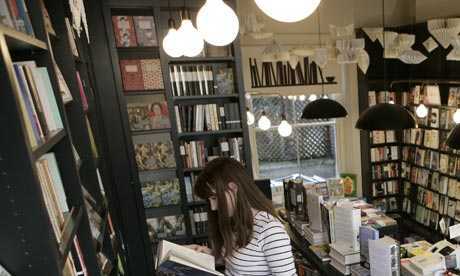 bookshop in London's 2011