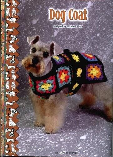 Amigurumis pink ropita para nuestras mascotas con - Cuadraditos de crochet ...