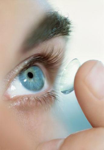 cara pakai contact lens