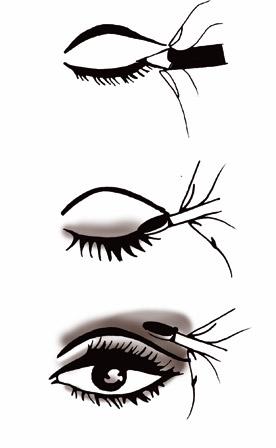 Perfecto Pintar Ojos Negros Ideas - Ideas para el hogar - telchac.info