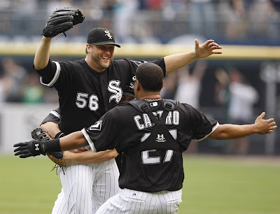 Chicago White Sox pitcher Mark Buehrle