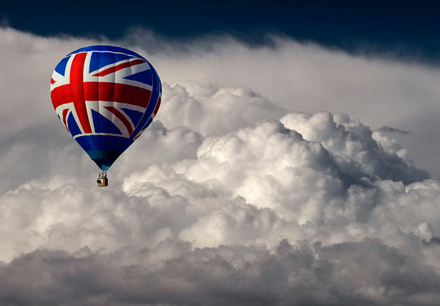 Britain Inspired. Union Balloon
