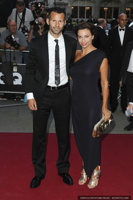 Ryan Giggs and Stacey Cooke photo