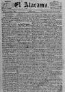 Diario del siglo XIX El Atacama