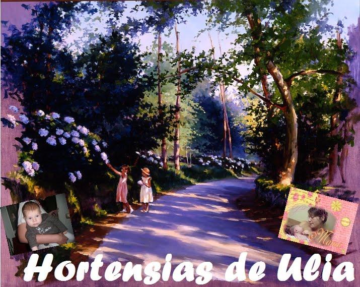 Hortensias de Ulia