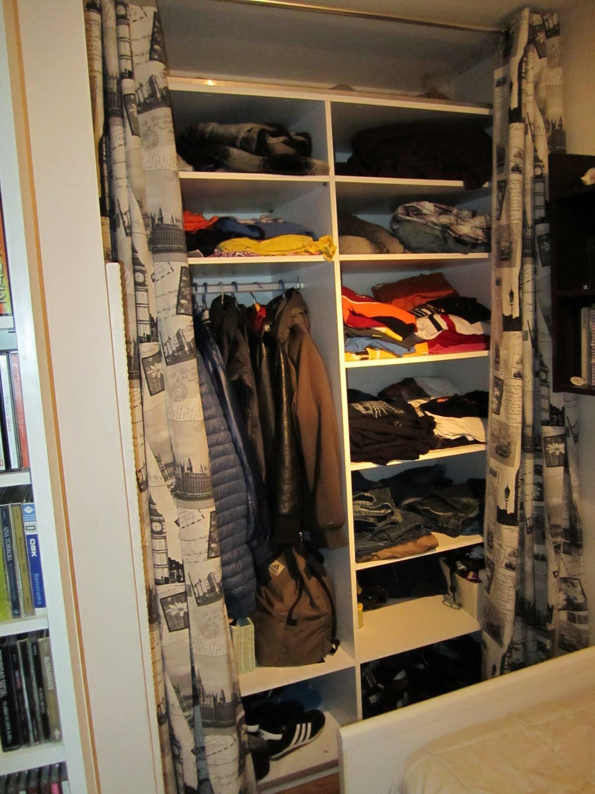El recreo de aitana cortinas puertas for Cortinas para armarios empotrados