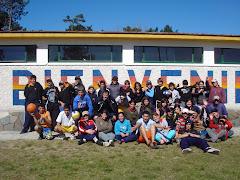 Campamento del Liceo de Cerro Colorado en Parque del Plata
