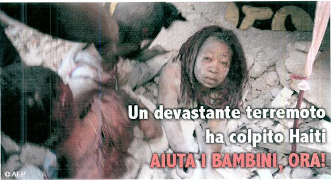 TERREMOTO DI HAITI