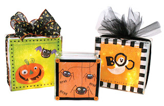 Craft Ideas Glass Blocks on Crafts Direct Blog  Halloween Glass Block Ideas