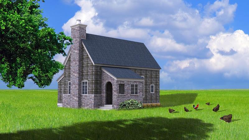 Prefab homes passive solar house kits green modern kits for Small passive solar homes