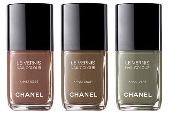 Collection Les Khakis De Chanel Vernis A Ongles