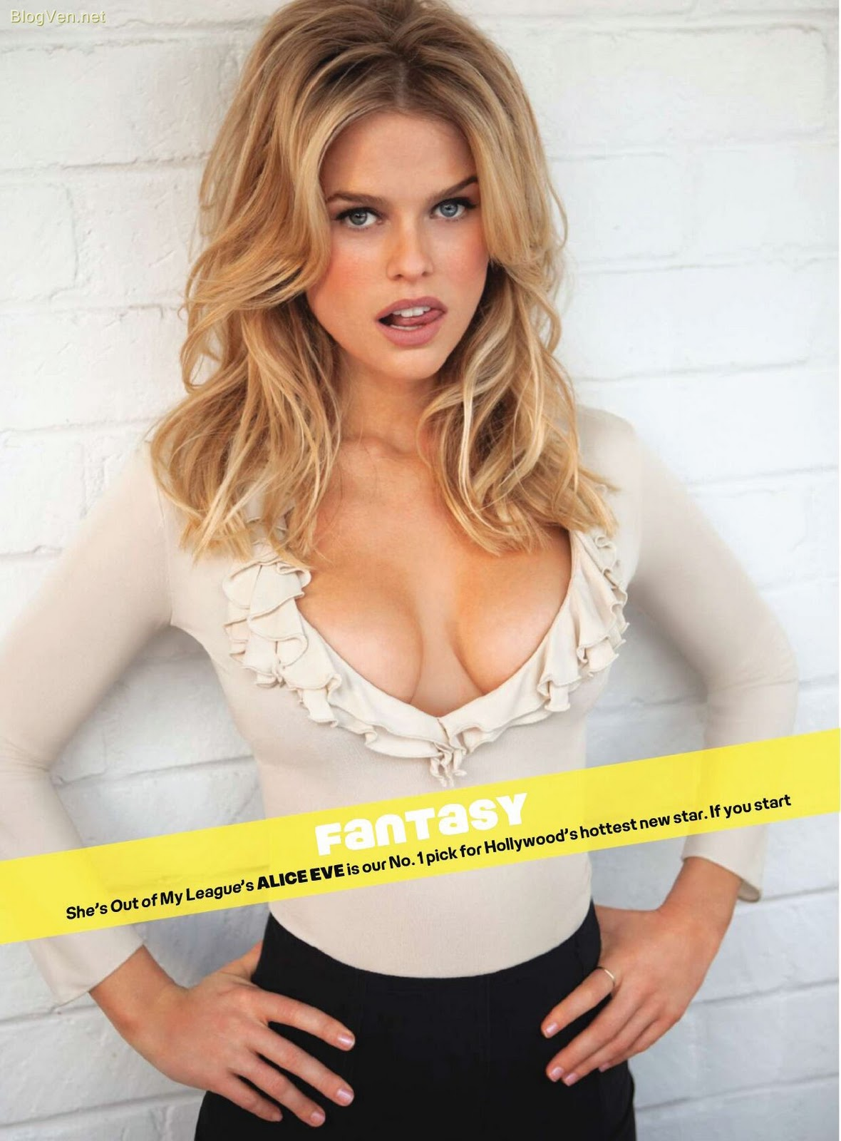 Alice Eve Maxim Magazine