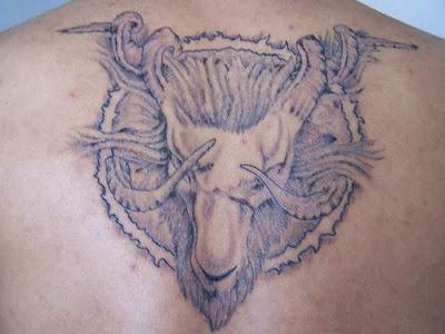 Zodiac Tattoo Design - Aries Tattoo