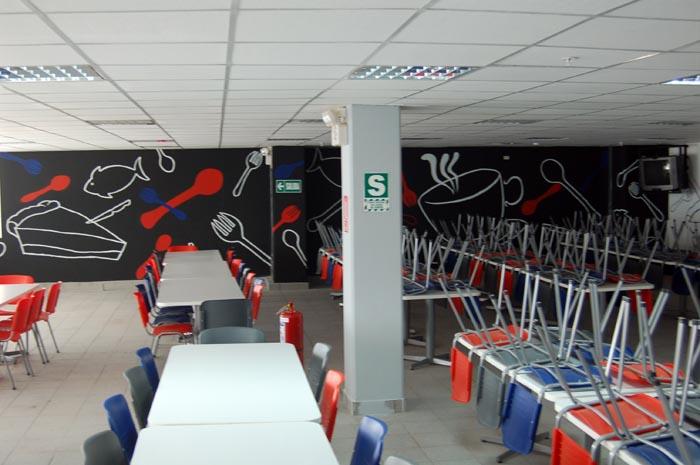 M2m arte y decoraci n murales talma - Comedor empresa ...