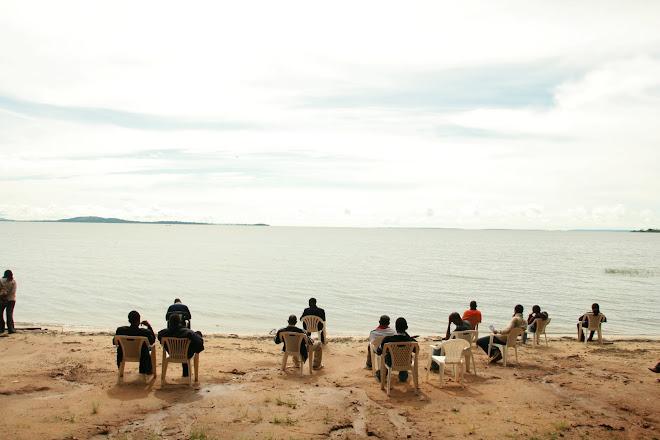 Malene i Uganda