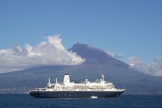 Pico visto do Faial