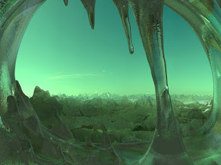 Digital Space Art by Svinik