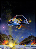 Angus McKie Space Art and Sci-Fi Illustrations