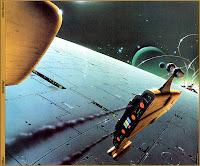 Chris Moore Sci-Fi Illustrations