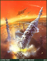 Chris Foss Illustrations and Sci-Fi Art