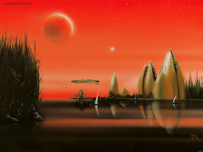 Frank M. Lewecke Alien Worlds