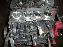 Mitsubishi Lancer 4B11 Engine
