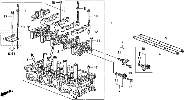 7 3 Cylinder Head Diagram