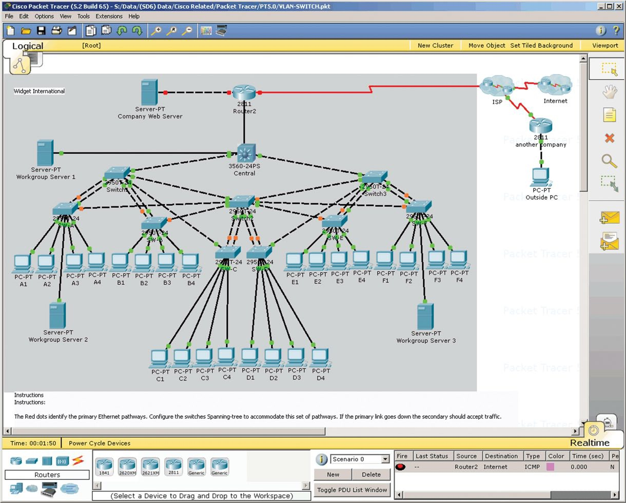 Cisco Packet Tracer ~ Cisco, CCNA exam answer and tips