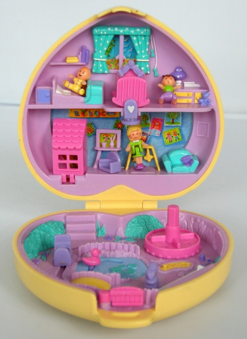 A little bit of everything polly pocket for Classic house list 90s