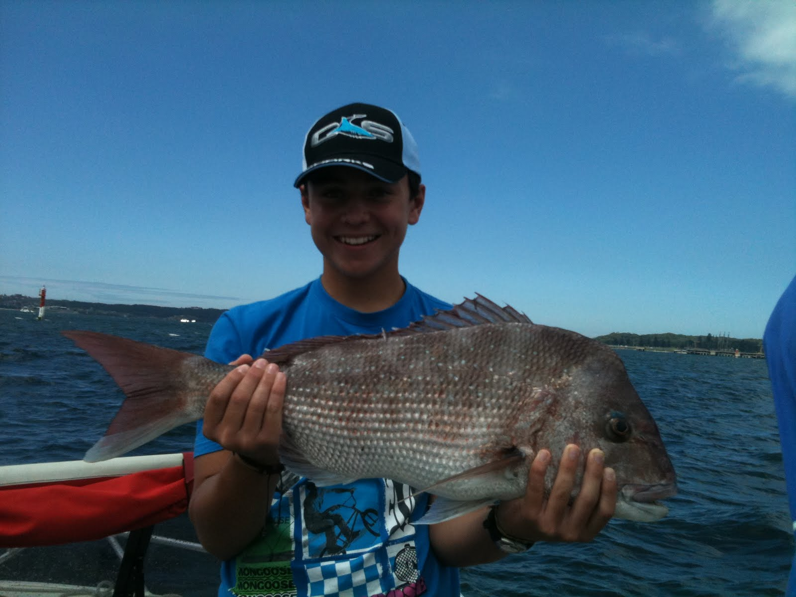 Botany bay fishing report with scotty lyons ryans big red for Seven b s fishing report