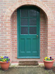 Door to the Library at the Kilns