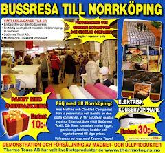 Vet inte hur fort jag vill komma till Norrköping.