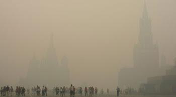 Moskva i rök