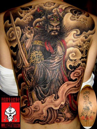 Chinese style tattoo