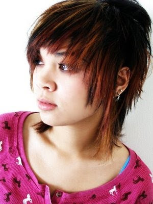 cute emo hair color ideas. funky hair color ideas for