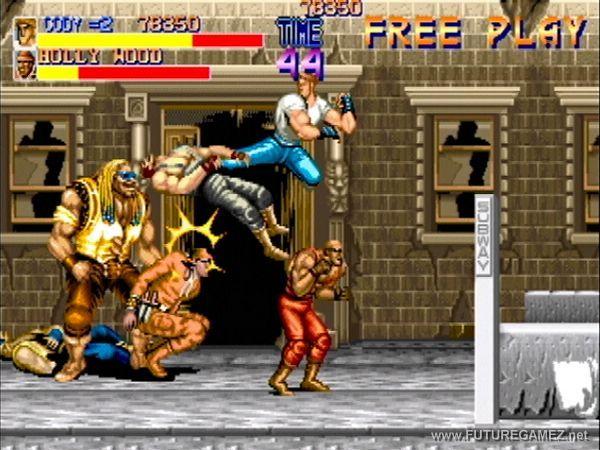 Final Fight vs Street of Rage Final+fight