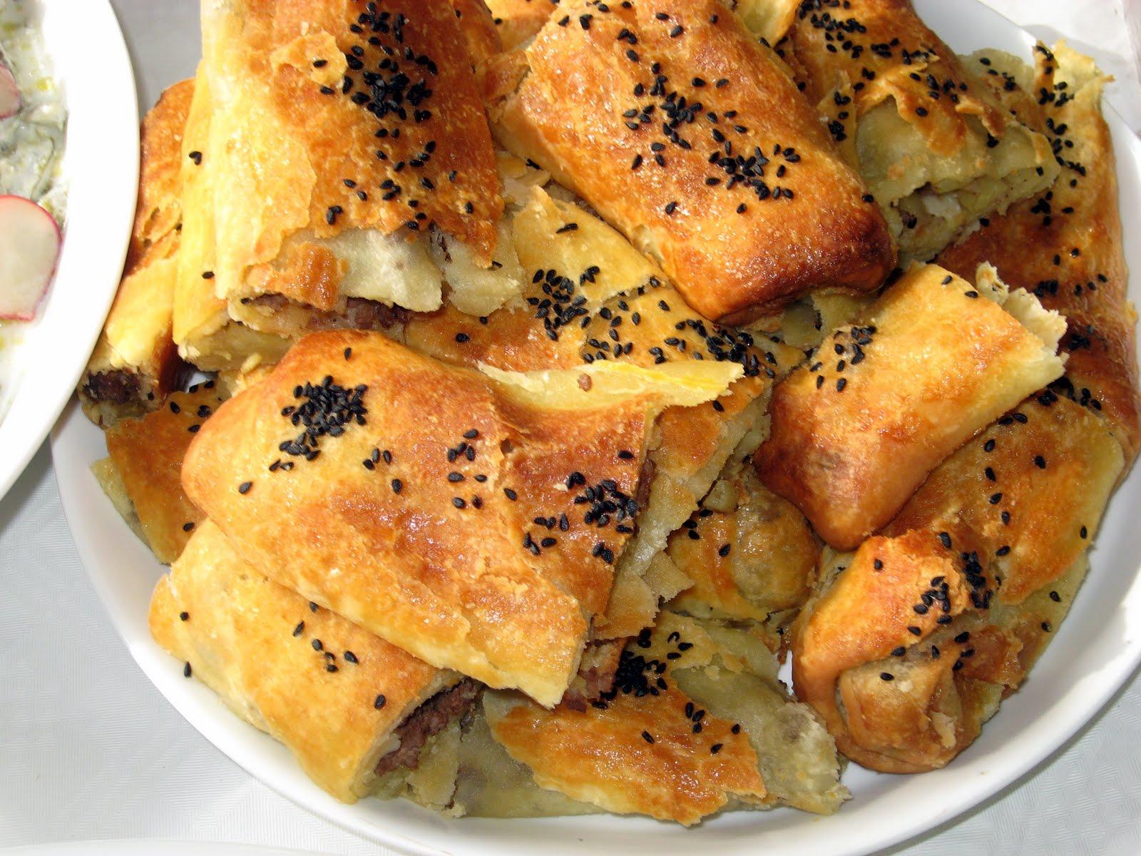 El Açması Kol Böreği (Patatesli)