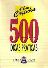 Livro com 500 Dicas Práticas na Cozinha