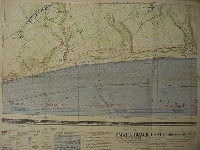 Hampton Roads Naval Museum Omaha Beach Landing Map