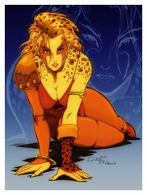 Thundercats Wiki Cheetara on Ego Sum Qui Sum  Nenas Ochenteras