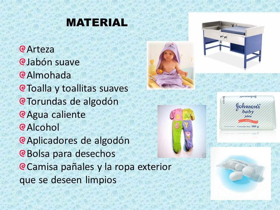materno infantil: enfermeria infantil higiene personal en el niño