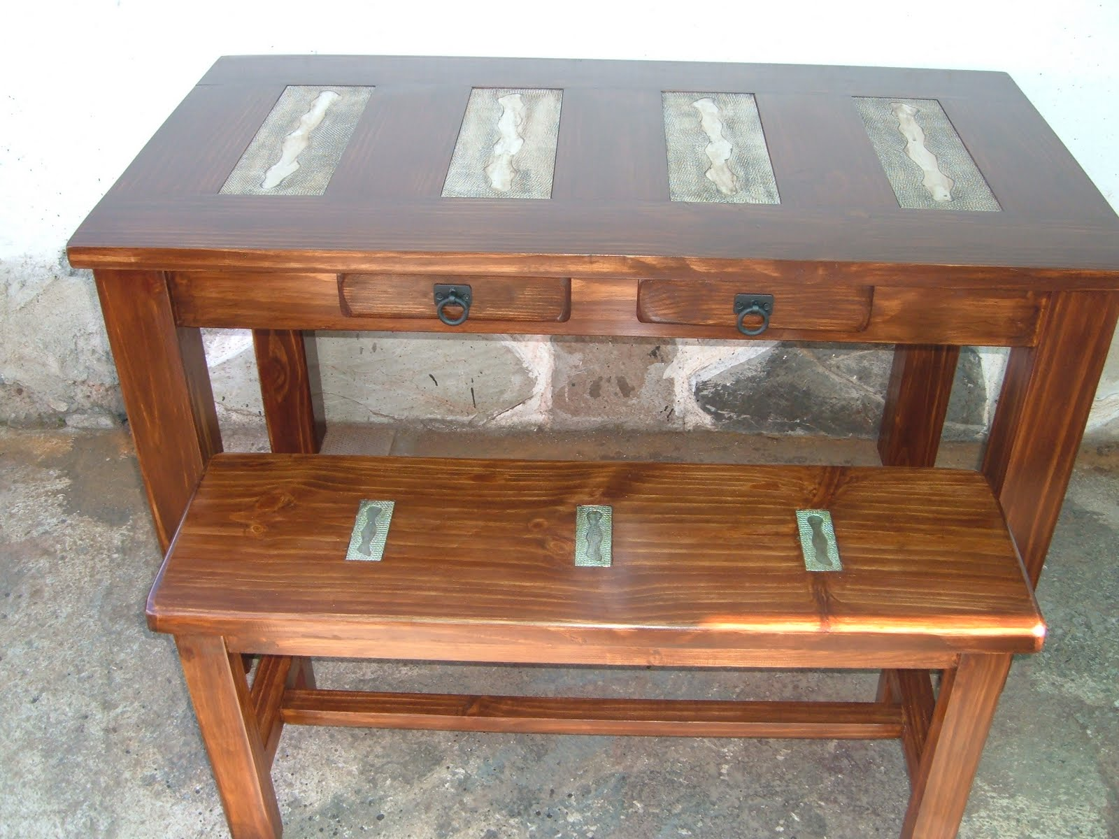 Herreria el vasco muebles en hierro for Muebles vascos